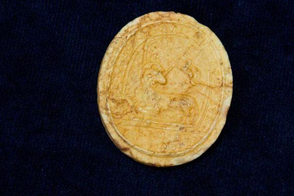 Agnus Dei, Lamb of God Piece, with Image of St. Teresa of Avila: Pope Clement IX