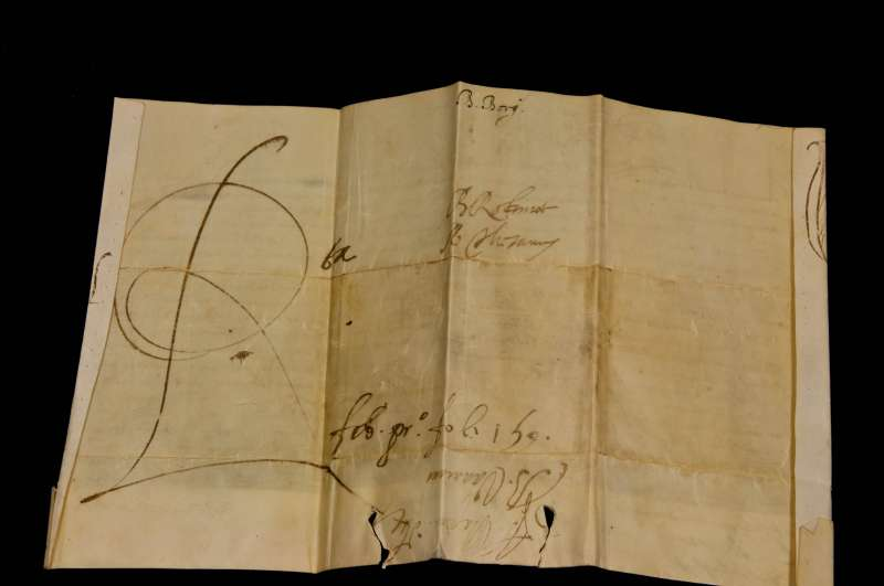 Papal Bull Issued During 13-day Papacy of Pope Urban VII (back)
