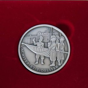 Commemorative Medal from the 500th Anniversary of The Swiss Guard