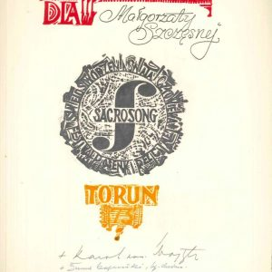 Diploma from the Polish Festival of Sacrosong, Dated 1973, Signed by Karol Wojtyla
