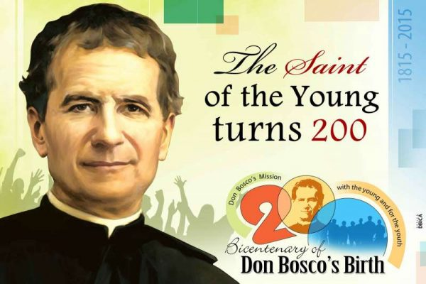 200th Anniversary of Saint John Bosco Official Photograph