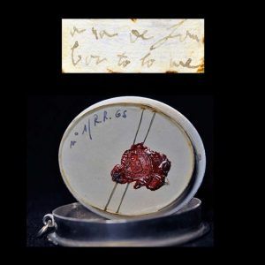 Seal of the Relic of Blessed Anne of Saint Bartholomew