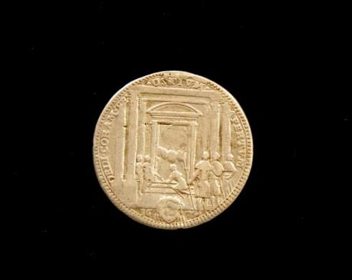 Coin Commemorating the Holy Year From the Pontificate of Clement X