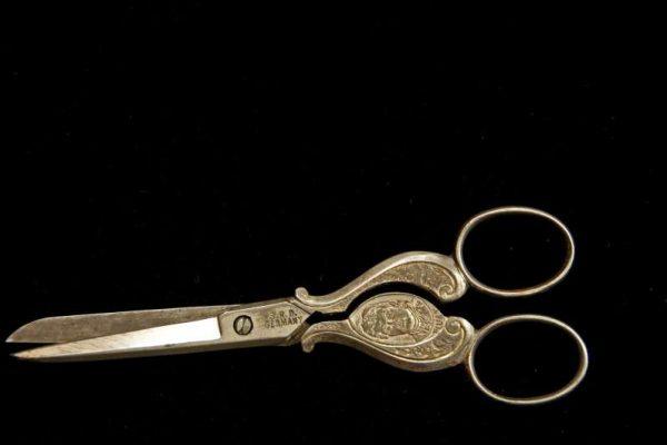 Pair of Scissors With Image of St. Pius X