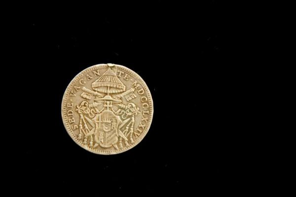 Sede Vacante Coin after Death of Clement XIV,  From 1774