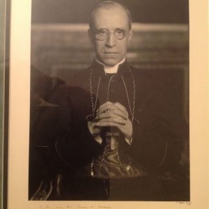 Frame Photo of Pius XII as Eugenio Card. Pacelli