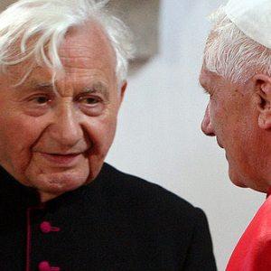 Father Georg Ratzinger & Cardinal Joseph Ratzinger
