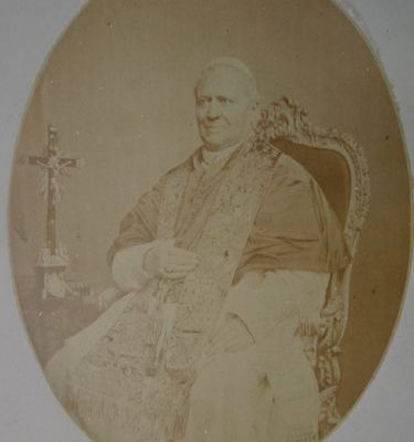 Pope Pius IX: A Rare Ink-Signed Image with a Wax Seal