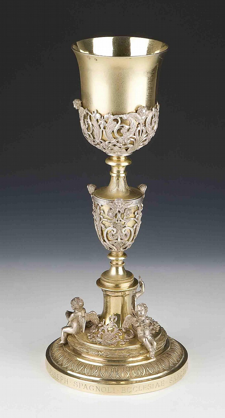 Pope Pius VII: Ornate Chalice