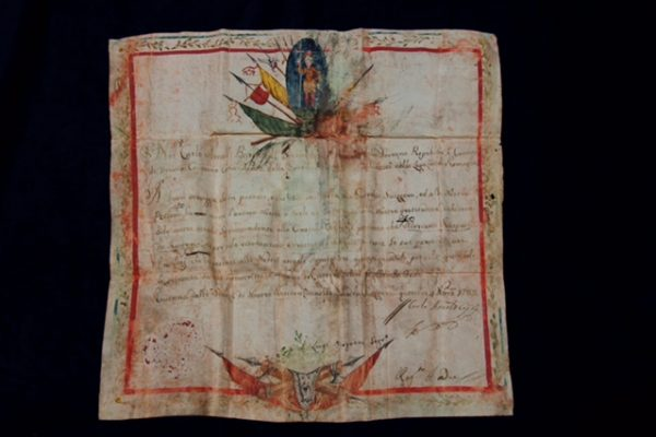 Swiss Guard: A 1785 Appointment to Ravenna on Parchment