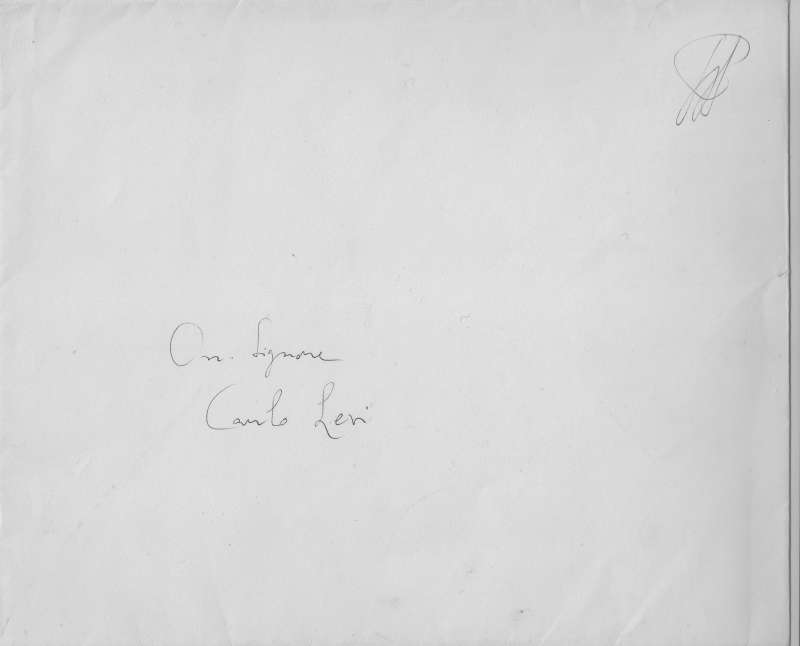 Signed Easter Card From April 19th, 1973 (envelope initialed)