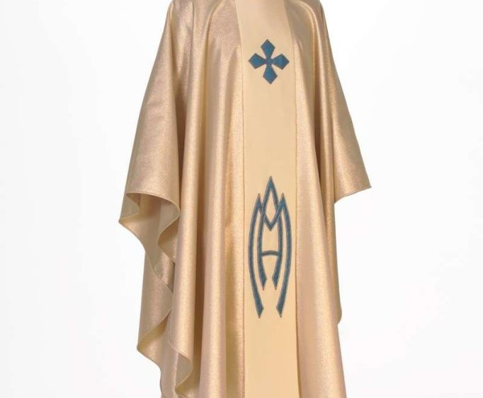 Chasuble Worn by the Pope Saint John Paul II For the Closing Mass of World Youth Day, Denver, 1993