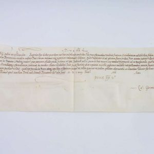 Brevis Signed by St. Pius V