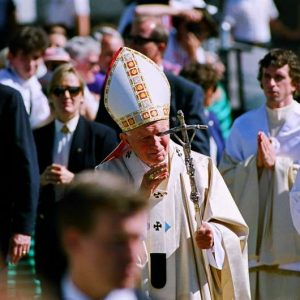 John Paul II at World Youth Day in Denver, 1993