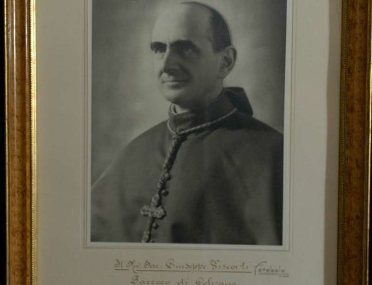 Photo and Blessing of Pope Paul VI while he was the Archbishop of Milan