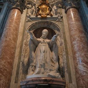 Tomb of St. Pius X located in St. Peter's Basilica