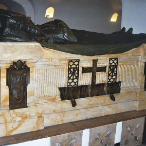 Tomb of Pope Benedict XV Located in the Vatican Grottoes