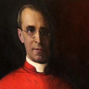 1936 PORTRAIT OF CARDINAL EUGENIO PACELLI, WHO BECAME POPE PIUS XII