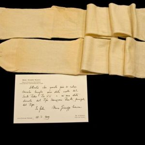 Pair of Stockings Belonging to Pope Pius XII