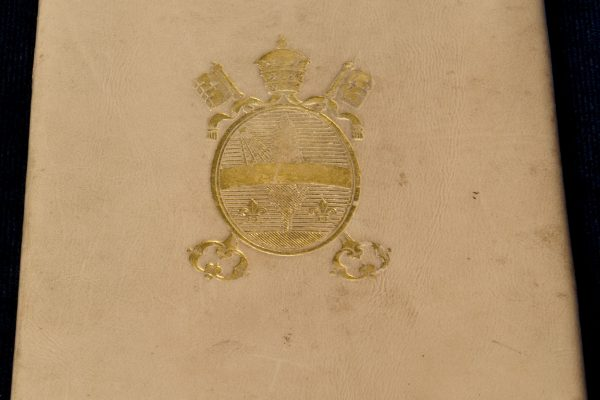 Pope Leo XIII: A Wallet with His Coat of Arms