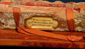 St. Therese of Lisieux: Close up of Document of Authenticity