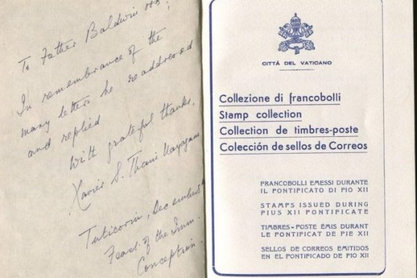 Pope Pius XII: A Presentation Album of Vatican City Philately
