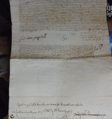 Pope Alexander VIII: A Letter Signed by Him on November 8, 1689