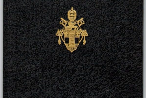 Passport Issued to Participating Bishops in Vatican II: Pope John XXIII