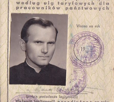 A Train Pass Issued to Father Karol Wojtyla & A Remarkable Story