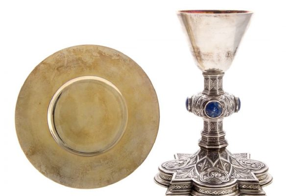 A Chalice & Paten  Used by Pope John XXIII: June 16, 1959
