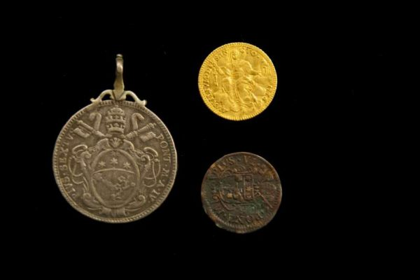 Three Coins From the Pontificate of Pius VI