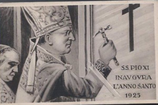 Pope PIus XI: An Animated Postcard from the Holy Year 1925