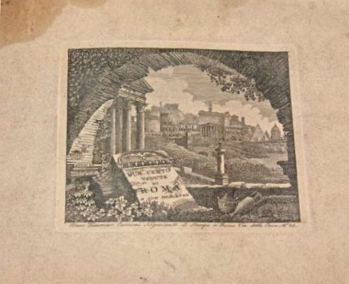 Copper Engravings from the Pontificate of Pius VI