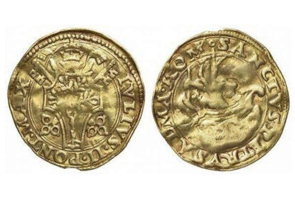 Pope Julius II: Gold Fiorino di Camera