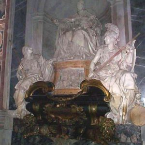Monument to Blessed Innocent XI in St. Peter's Basilica