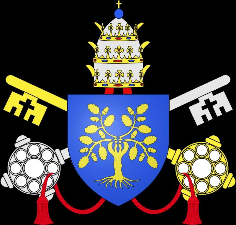 Coat of Arms of Pope Julius II