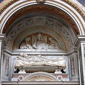 Pope Innocent III's Burial Monument in St. John Lateran Basilica