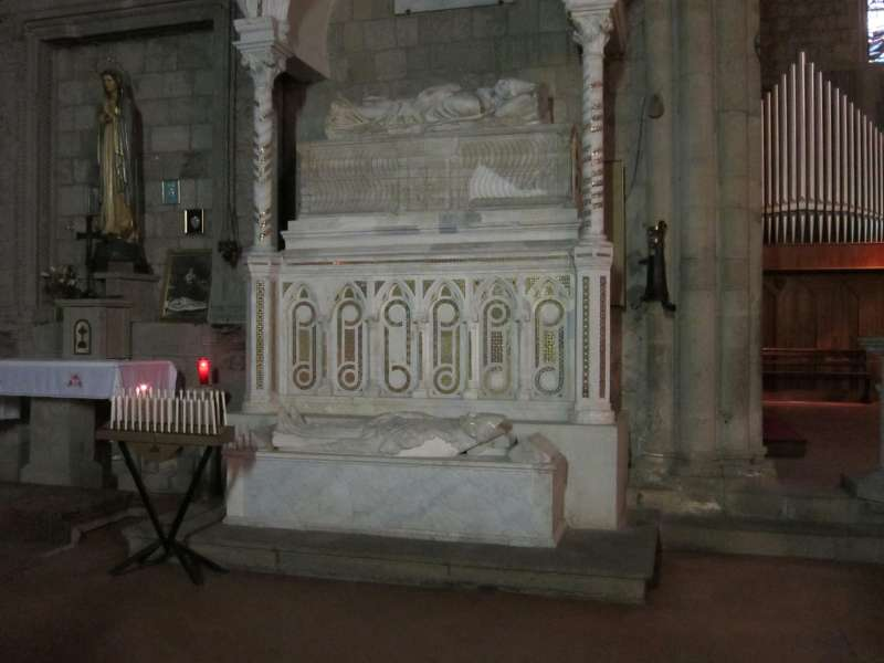 Burial Site of Pope Clement IV Santa Maria in Gradi, Outside of Viterbo