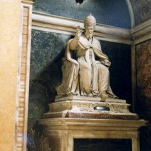 Pope Urban VII Burial Site in Santa Maria sopra Minerva