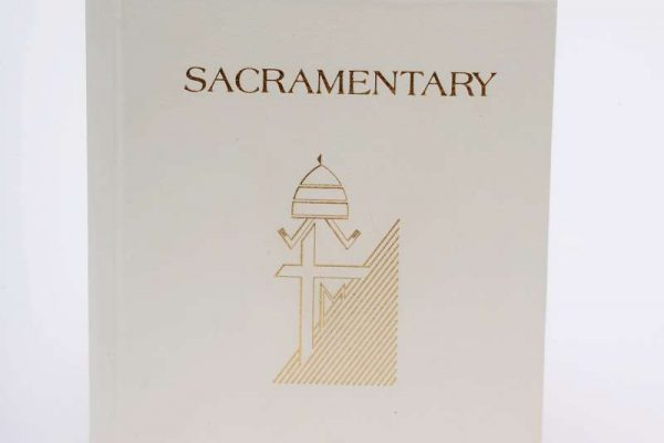 Sacramentary Used by Pope John Paul II: Third Pastoral Visit to the United States, 1995