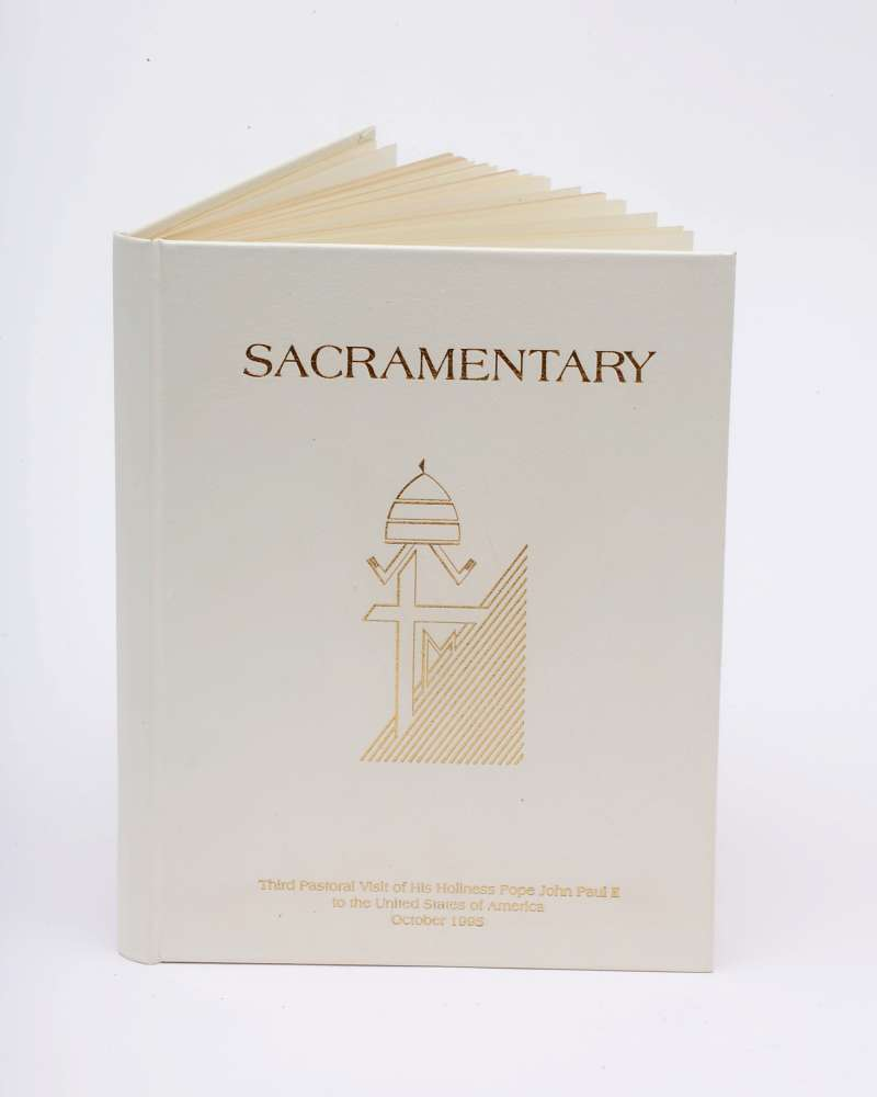 Sacramentary Used by Pope John Paul II Used During the Third Pastoral Visit to the United States in 1995