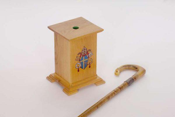 Hiking Stick Used by Pope Saint John Paul II