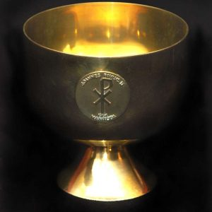 Papal Ciborium Used at a Mass in Manitoba, Canada in 1984