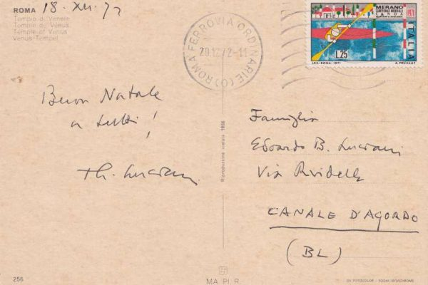 Pope John Paul I: Two Postcards Signed and Dated