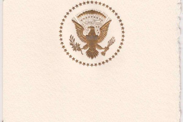 Invitation From President Jimmy Carter to Pope Saint John Paul II