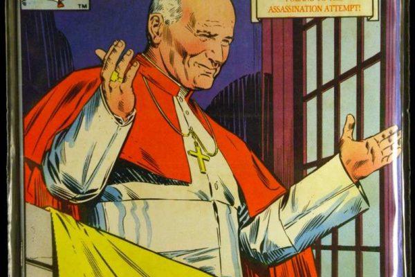 Marvel Comic Book:  The Life of Pope John Paul II, 1982