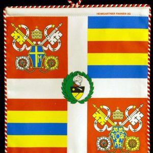 Replica of John Paul II's Flag