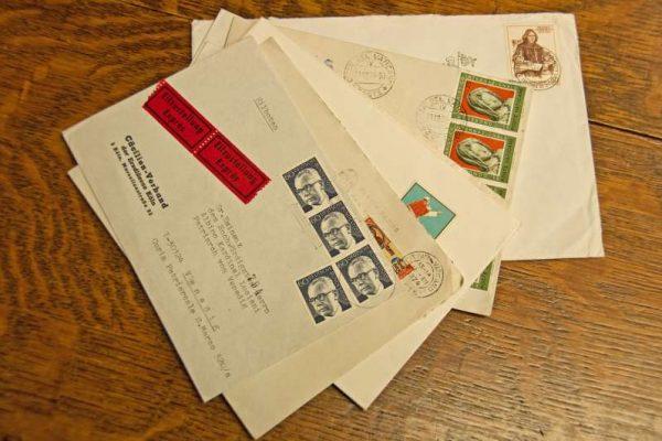 Envelopes Addressed to Pope John Paul I as  Cardinal