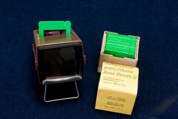 Polish Slides and Viewfinder from Election of  Saint John Paul II