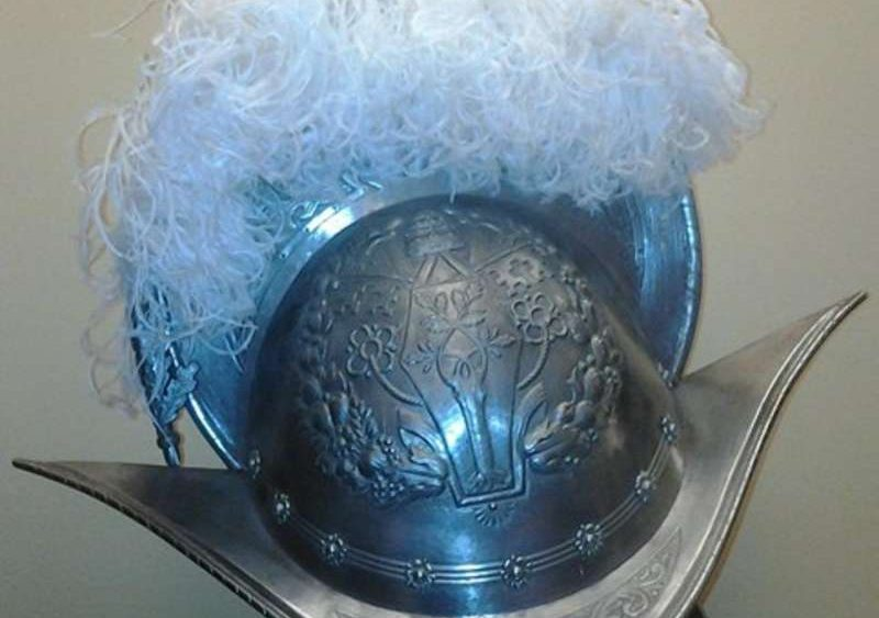 Morion Style Helmet Used by the Swiss Guard in the 1960's